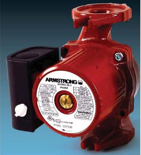 Armstrong Astro 2 Series - 225BS 1/2 SWT - 3-Speed Wet-Rotor Circulator - 1/2