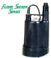 Zoeller Series 42, 44, 46 Floor Sucker Utility Pump  - 1/6 HP to 1/2 HP