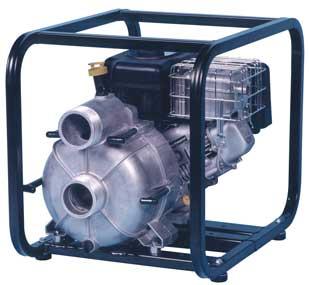 Zoeller Model 320, 321, 322, 323 Engine Driven Trash Pumps - 3 1/2 HP & 5 HP
