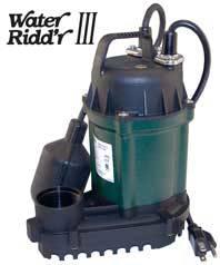 Zoeller Water Riddr III Sump Pump Model 49