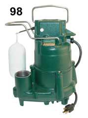 Zoeller Flow Mate Sump Pump Model 98
