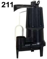 Zoeller Aqua Mate Model 211 - .4 HP - 115 Volt Submersible Pump