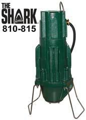 Zoeller The Shark Series 810, 815 Grinder Pumps