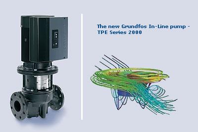 Grundfos  TPE & LME E Series Circulator Pumps