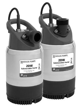 Goulds Submersible Dewatering Pumps 2DW0511