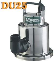 Myers DU25 - 1/4 HP Stainless Steel Utility Pump