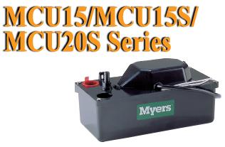 Myers MCU15 MCU15S MCU20S Series Condensate Pump