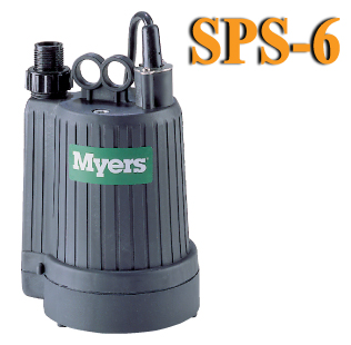 Myers SPS6 - 1/6 HP Dewatering Utility Pump
