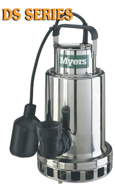 Myers DS Series - 1/3 - 3/4 HP SS Sump Pump