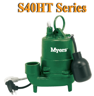 Myers S40HT Series-High Temperature Effluent Pump