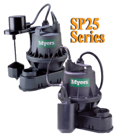 Myers SP25 Series - Residential Sump Pumps