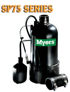 Myers SP75 Series -Composite Submersible Sump Pump