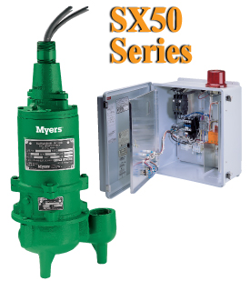 Sx50 Myers Sx50 Series Explosion Proof Sump Pump Package
