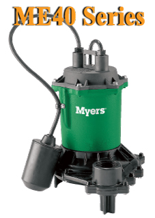 Me40 Myers Me40 Series Effluent And Drain Water Pump