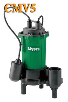 Cmv5 Myers Cmv5 Series 1 2 Hp Residential Sewage Pump