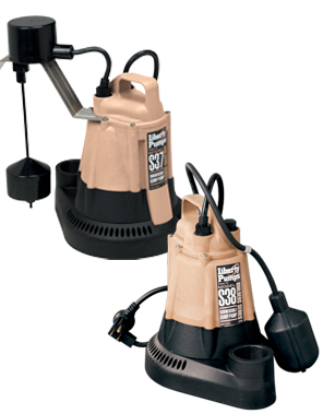 Liberty S30 Series 1/3 hp Builders Series Sump Pumps