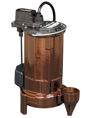 Liberty 280 Series 1/2 hp Effluent/Sump Pump
