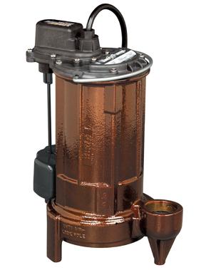 Liberty 280 Series 1/2 hp Effluent/Sump Pump