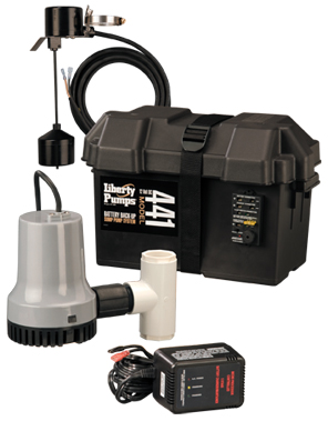 Liberty Model 441 Battery Back-Up Sump Pump System