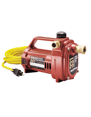 Liberty Model 331 1/2 hp Portable Transfer Pump