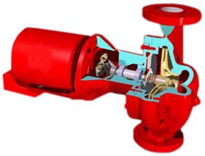 102214 Bell Amp Gossett 2nfi Circulator Pumps