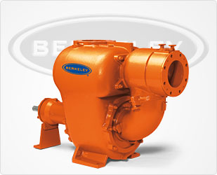Berkeley BSPD6-1750 RPM BS Self-Priming Trash Pump -Flows To 2500 GPM