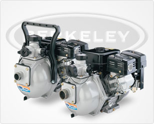 Berkeley PP90R Pumper & Pumper Gas Engine Drive Pumps Series