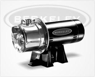Berkeley 10SJH Stainless Steel Shallow Well Series Pumps