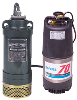 Barnes Series 126 Submersible Dewatering Pump