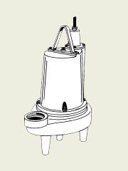 Barnes 109977 - 3 HP Submersible Fountain Pump