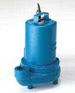 Barnes Submersible Non-Clog Pump 3SE1044L