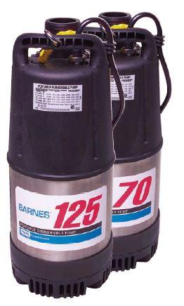 115126 Barnes Portable Submersible Pump 126