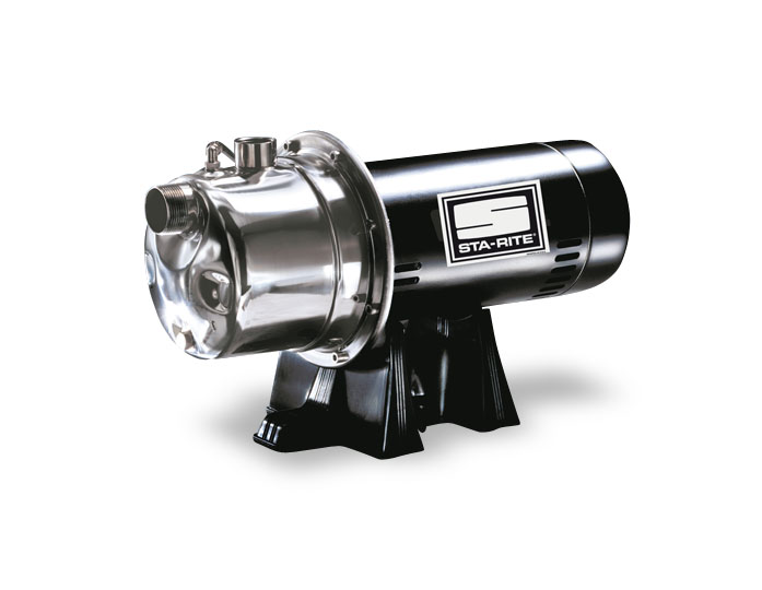 Cj90f sta rite shallow well jet pump stainless steel for Sta rite well pump motor