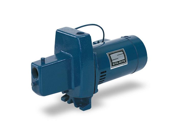 Fnc sta rite shallow well jet pump cast iron for Sta rite pump motor