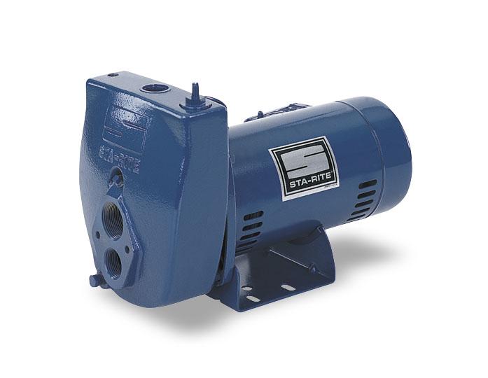 Sld sta rite convertible jet pump cast iron for Sta rite pump motor
