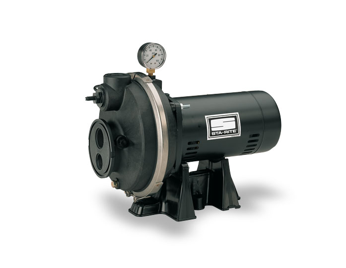Ple sta rite convertible deep well jet pump thermoplastic for Sta rite well pump motor