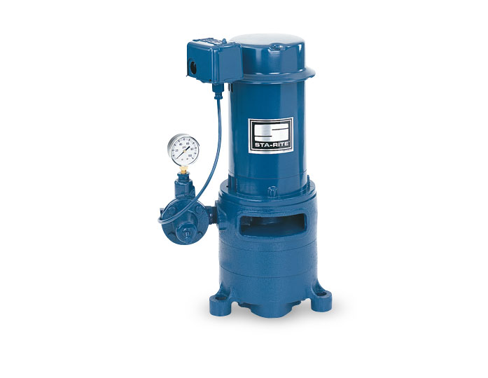 Sta-Rite Vertical Multi-Stage Deep Well Jet, Cast Iron