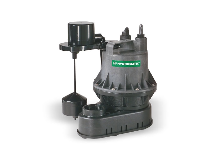Hydromatic 1/4 HP Thermoplastic Sump Pumps