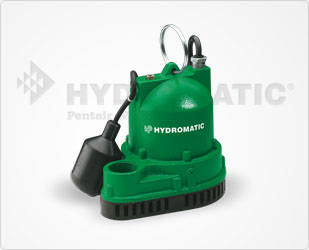 Hydromatic 3/10 HP Cast Iron Sump Pumps