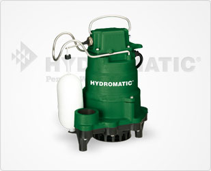 Hydromatic  1/3 HP Cast Iron Sump Pumps