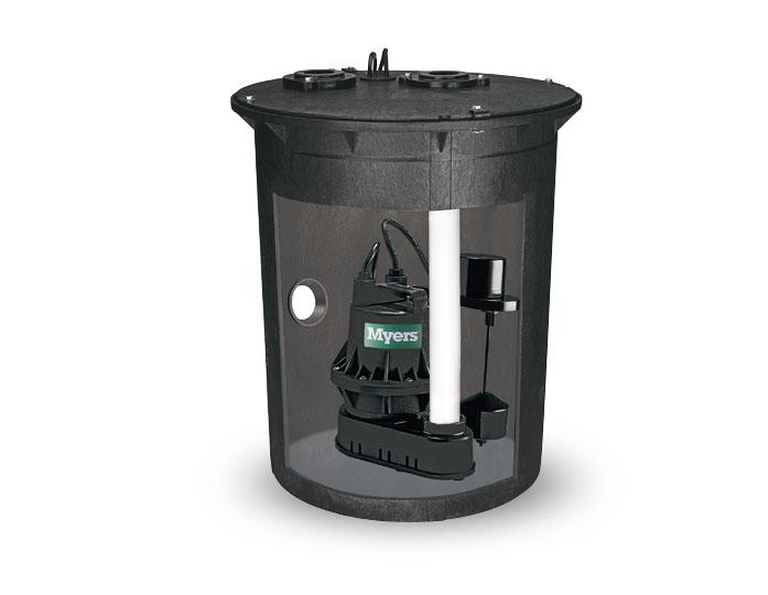 Psb1822 Myers Psb1822 1 4 Hp Sump Pump Basin Package