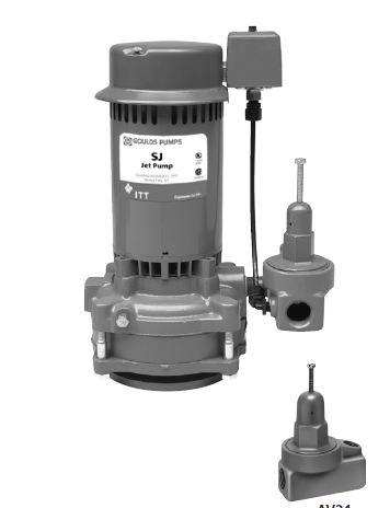 SJ10   Goulds Deep Well Vertical Jet Pumps SJ10