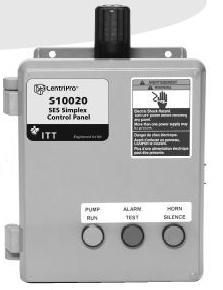 S31016 Goulds Simplex Weatherproof Control Panel