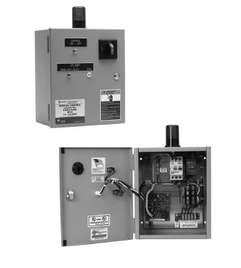Cdd16310 Goulds Duplex Wastewater Disconnect Style Panel