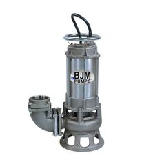 BJM SKX08CSS-208T Stainless Steel Shredder Pump