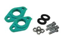 Wilo 1 1/2 in. HV FNPT Flange Kit