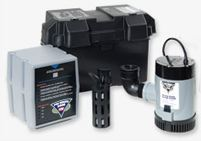 Pro Series PHCC Battery Backup Sump Pump System PHCC-2400