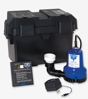 Pro Series PHCC Battery Backup Sump Pump System PHCC-1000