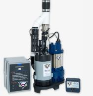 Pro Series PHCC Combination Primary and Backup Pump System