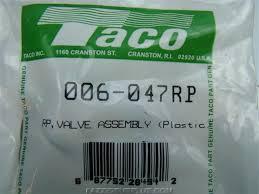 Taco Pump Replacement Parts